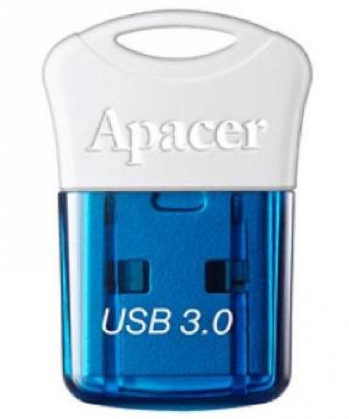 APACER USB Flash Drive AH157, USB 3.0, 64GB, Blue - APACER 8707