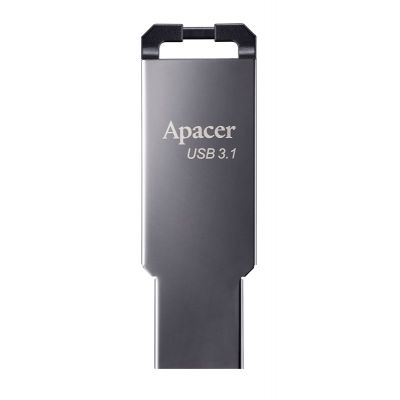 APACER USB Flash Drive AH360, USB 3.1 Gen1, 64GB, Black - APACER 19598