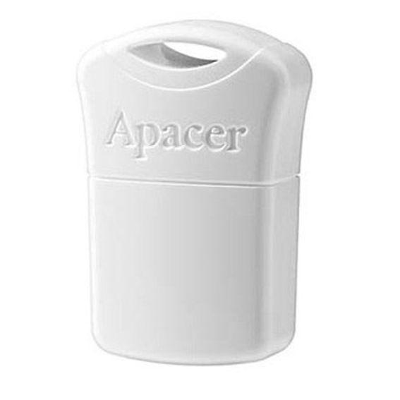 APACER USB Flash Drive AH116, USB 2.0, 8GB, White - APACER 8720