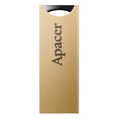 APACER USB Flash Drive AH133, USB 2.0, 8GB, Gold - APACER 13813