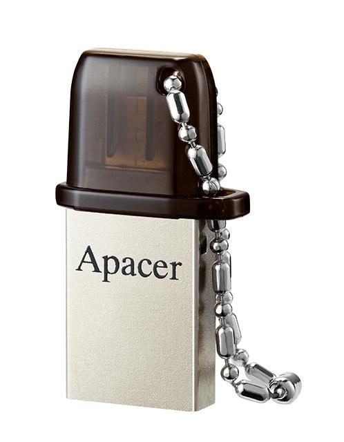 APACER USB Mobile Flash Drive AH175, USB 2.0, 8GB, Black - APACER 8700