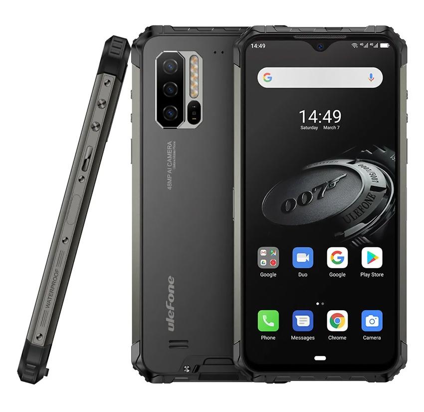 """ULEFONE Smartphone Armor 7E, IP68/IP69K, 6.3"""", 4/128GB, 8-Core, μαύρο - ULEFONE 31032"""