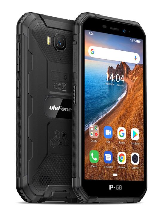 "ULEFONE Smartphone Armor X6, IP68/IP69K, 5"", 2/16GB, Quad-core, μαύρο - ULEFONE 27891"
