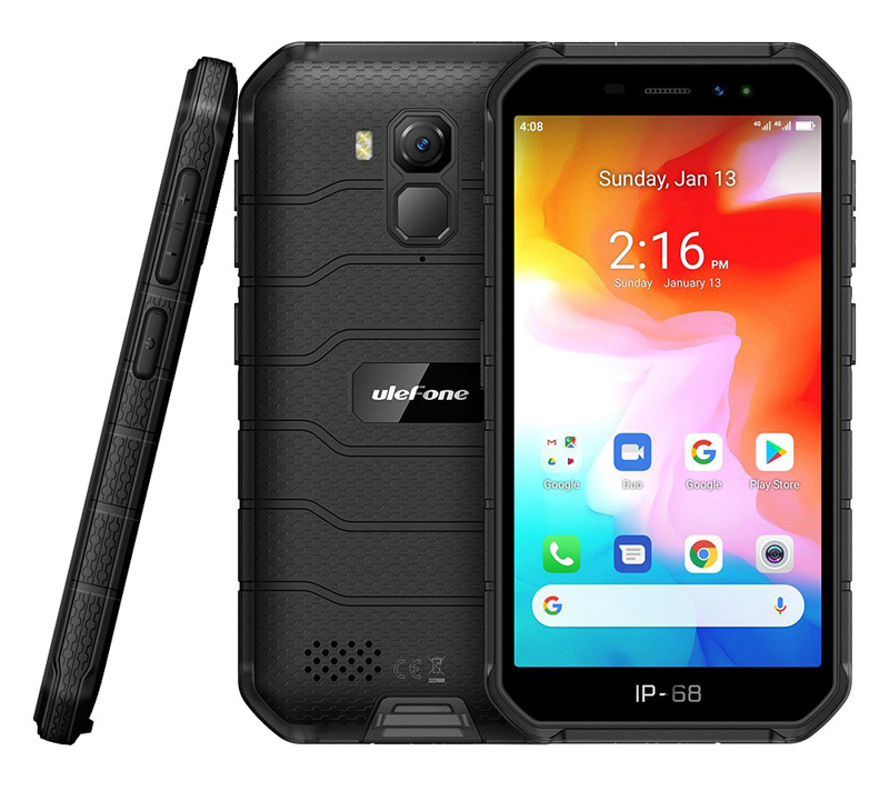 "ULEFONE Smartphone Armor X7, IP68/IP69K, 5"", 2/16GB, 13MP, μαύρο - ULEFONE 29482"