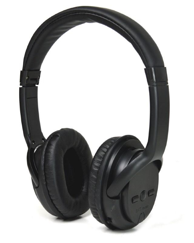 Bluetooth Headphones AUR-SL, FM Radio, TF Card, 300mAh, μαύρα - UNBRANDED 23118