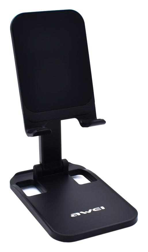 AWEI βάση smartphone X11, ρυθμιζόμενη, μαύρη - AWEI 41199