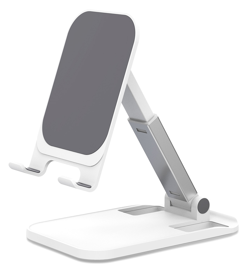 AWEI βάση smartphone X11, ρυθμιζόμενη, λευκή - AWEI 41200