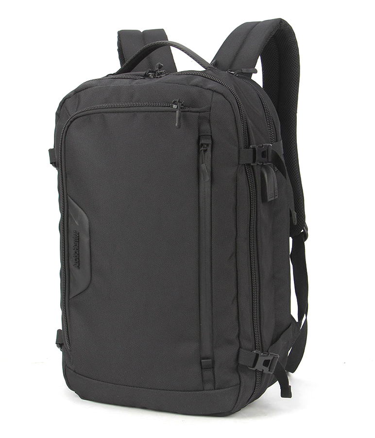 ARCTIC HUNTER τσάντα πλάτης B-00183-BK με θήκη laptop, αδιάβροχη, μαύρη - ARCTIC HUNTER 25953