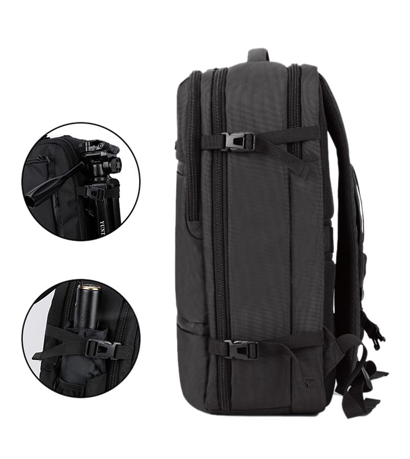 ARCTIC HUNTER τσάντα πλάτης B-00187-BK, laptop, αδιάβροχη, μαύρη - ARCTIC HUNTER 22830