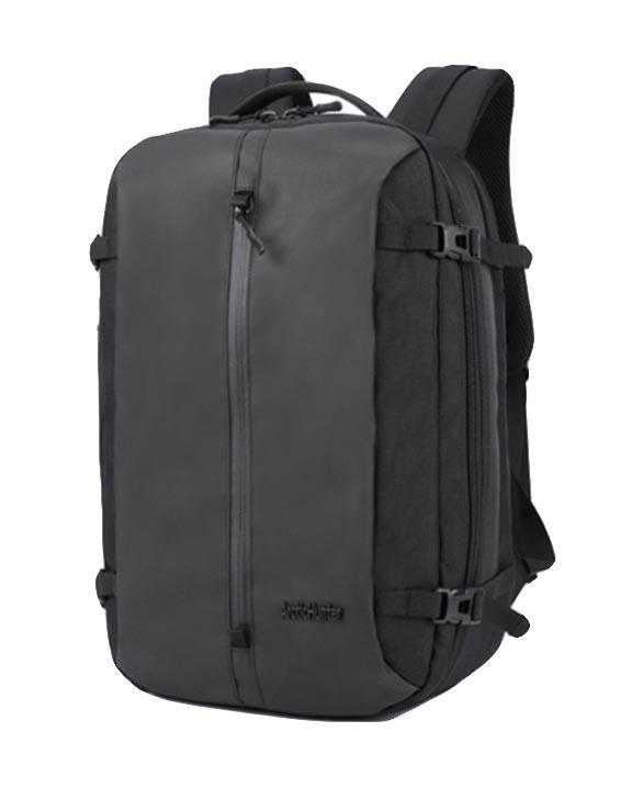 ARCTIC HUNTER τσάντα πλάτης B-00189-BK, laptop, αδιάβροχη, μαύρη - ARCTIC HUNTER 22831