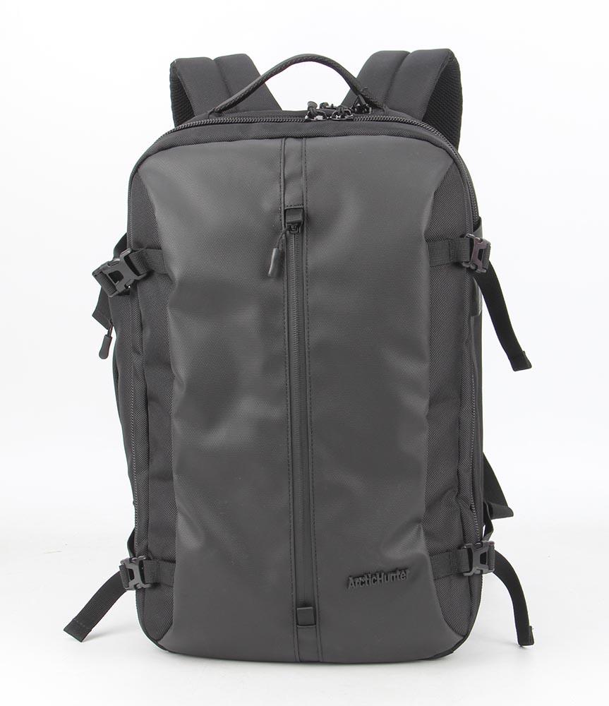 ARCTIC HUNTER τσάντα πλάτης B-00189-GY, laptop, αδιάβροχη, γκρί - ARCTIC HUNTER 22832