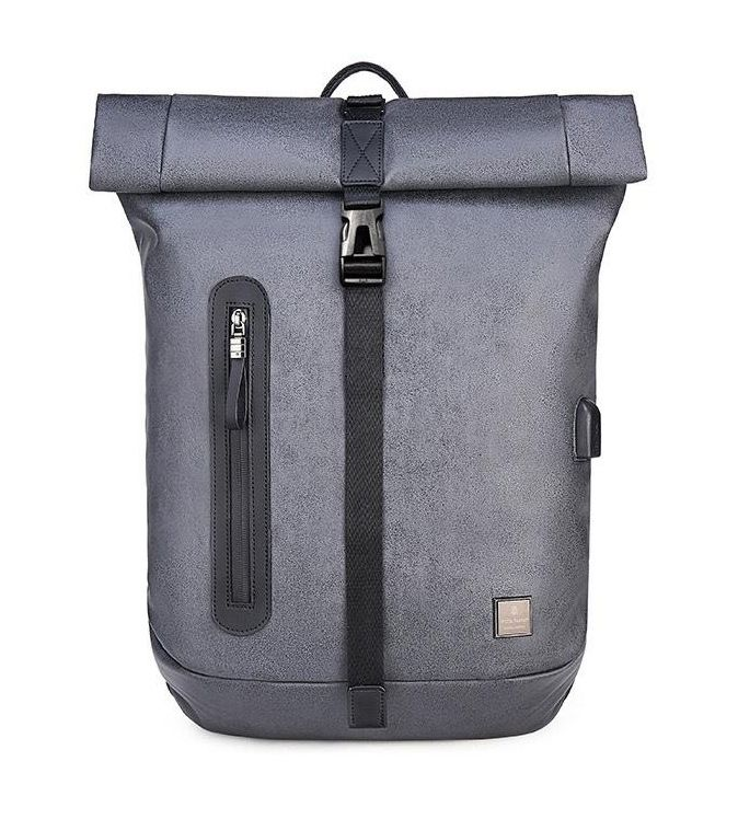 ARCTIC HUNTER τσάντα πλάτης B-00283-GY με θήκη laptop, αδιάβροχη, γκρι - ARCTIC HUNTER 25927