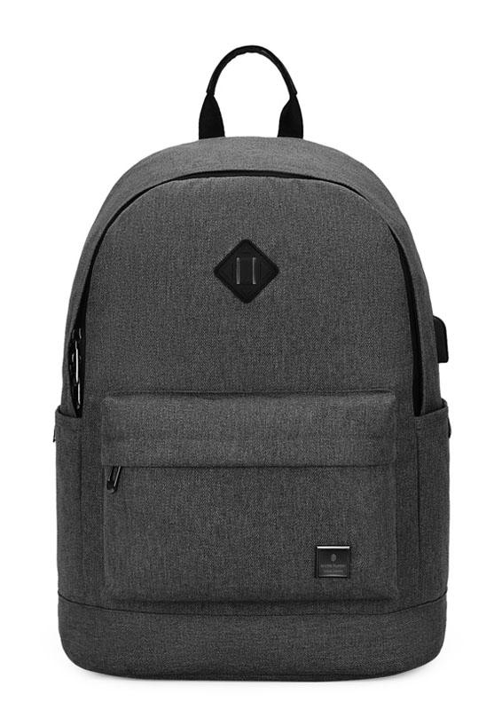 ARCTIC HUNTER τσάντα πλάτης B-00290-BK με θήκη laptop, αδιάβροχη, μαύρη - ARCTIC HUNTER 22787