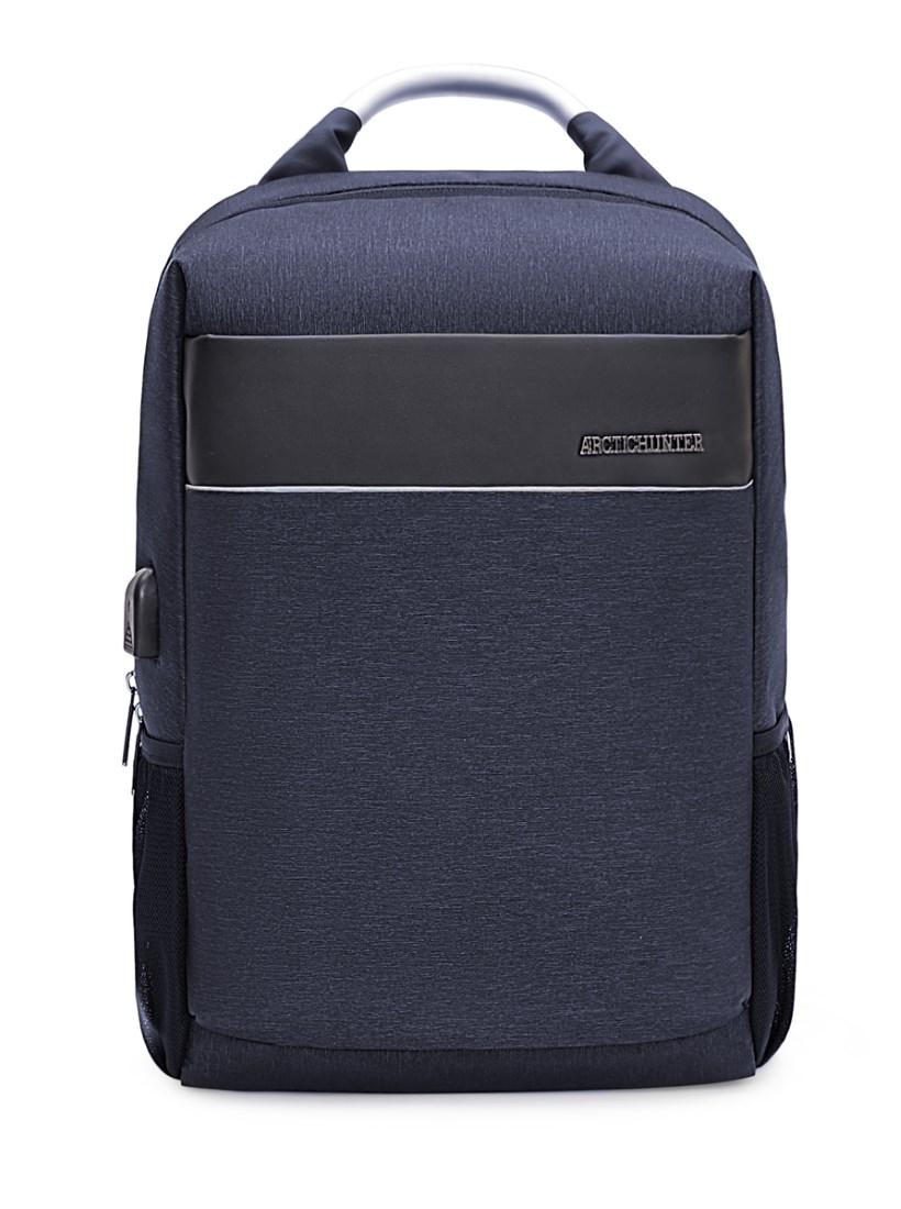 ARCTIC HUNTER τσάντα πλάτης B00218-BL, laptop, USB, αδιάβροχη, μπλε - ARCTIC HUNTER 22811