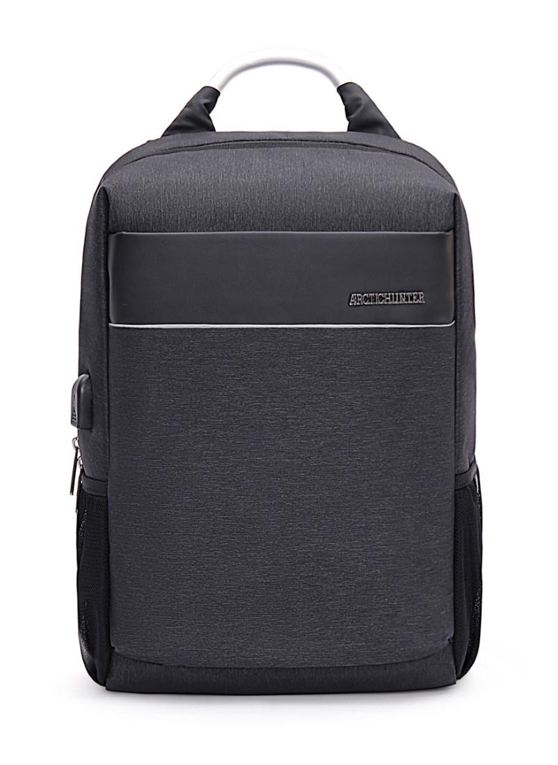 a23037fddf9 ARCTIC HUNTER τσάντα πλάτης B00218-GY, laptop, USB, αδιάβροχη, γκρι -