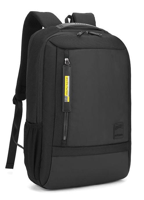 ARCTIC HUNTER τσάντα πλάτης B00357-BK με θήκη laptop, αδιάβροχη, μαύρη - ARCTIC HUNTER 27040