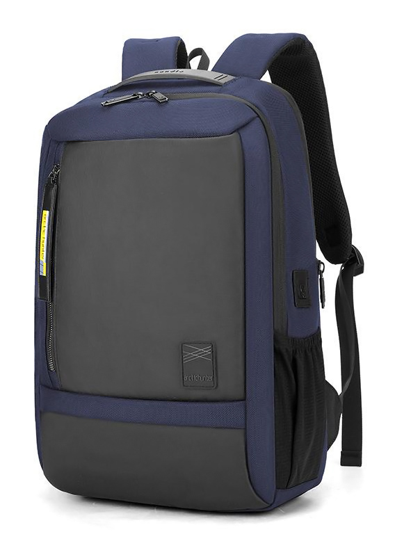 ARCTIC HUNTER τσάντα πλάτης B00357-BL με θήκη laptop, αδιάβροχη, μπλε - ARCTIC HUNTER 27035