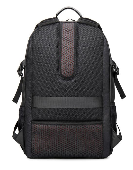 ARCTIC HUNTER τσάντα πλάτης B00381 με θήκη laptop, USB, μαύρη - ARCTIC HUNTER 31098