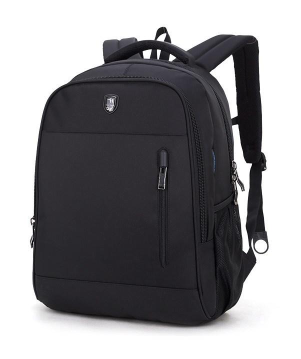 ARCTIC HUNTER τσάντα πλάτης B180018, laptop, αδιάβροχη, μαύρη - ARCTIC HUNTER 22835