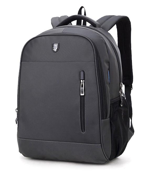 ARCTIC HUNTER τσάντα πλάτης B180018, laptop, αδιάβροχη, γκρι - ARCTIC HUNTER 22836