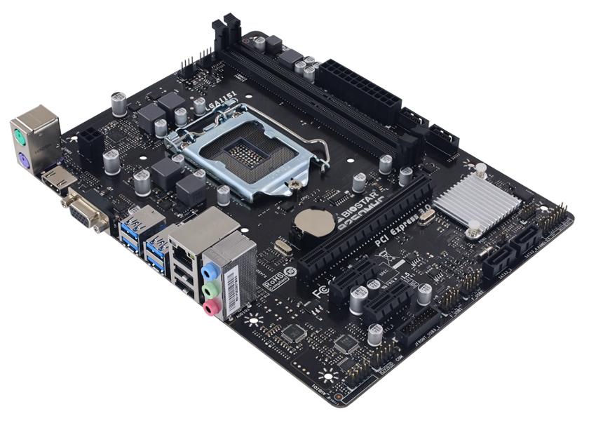 BIOSTAR Μητρική B250MHC, 2x DDR4, s1151, USB 3.2, Micro ATX, Ver. 7.0 - BIOSTAR 37370