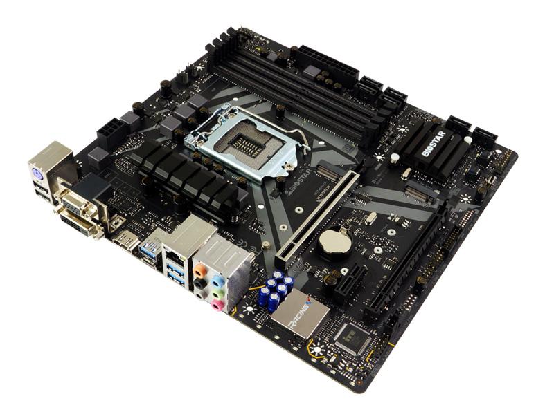 BIOSTAR Μητρική B360GT3S, 4x DDR4, s1151, USB 3.1, HDMI, mATX, Ver. 6.0 - BIOSTAR 27527