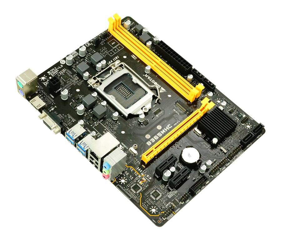 BIOSTAR Μητρική B365MHC, 2x DDR4, s1151, USB 3.1, HDMI, mATX, Ver. 6.1 - BIOSTAR 26962