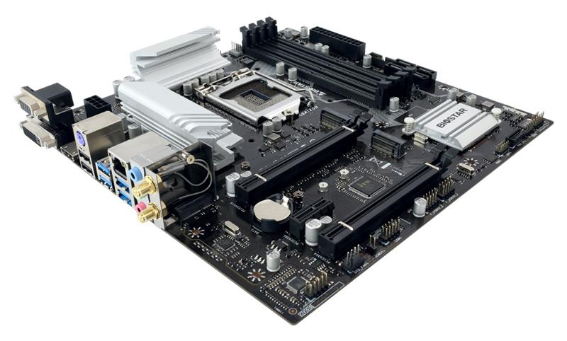 BIOSTAR μητρική B560MX-E PRO, 4x DDR4, s1200, USB 3.2, mATX, Ver. 6.0 - BIOSTAR 43106