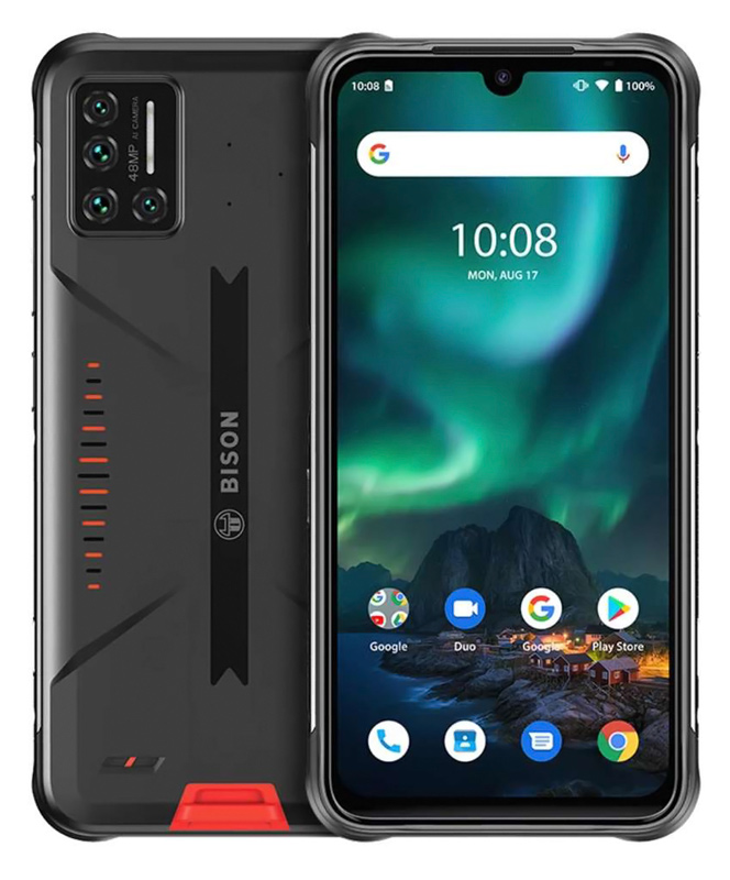 "UMIDIGI smartphone Bison, IP68/IP69K, 6.3"" FHD+, 8/128GB, 48MP, orange - UMIDIGI 40327"