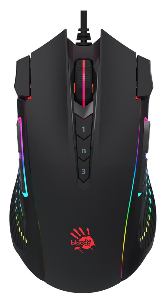 BLOODY ενσύρματο Gaming ποντίκι BLD-J90s, oπτικό, 8000 CPI, 12 πλήκτρα - BLOODY 40872