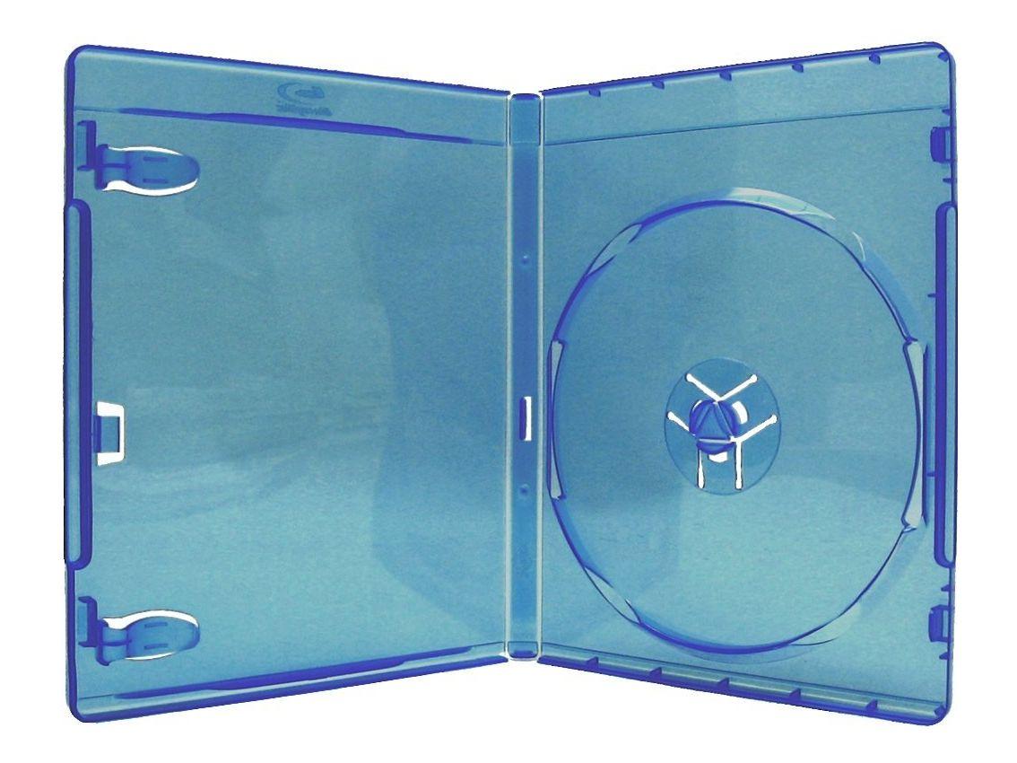 Θήκη Blue Ray 1 Disc 11mm, Μπλε, 50τμχ - MEDIARANGE 6027