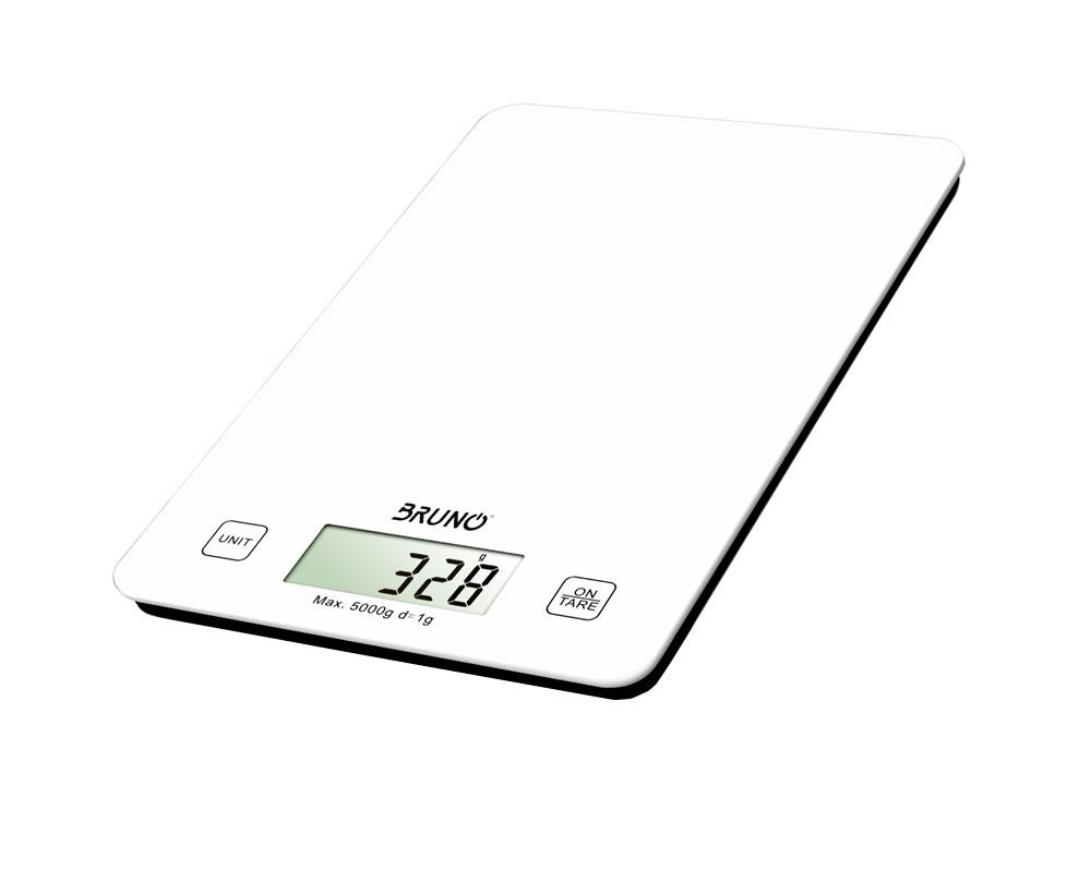 BRUNO Ζυγαριά κουζίνας BRN-0006, LCD οθόνη, 5kg max - BRUNO 23580