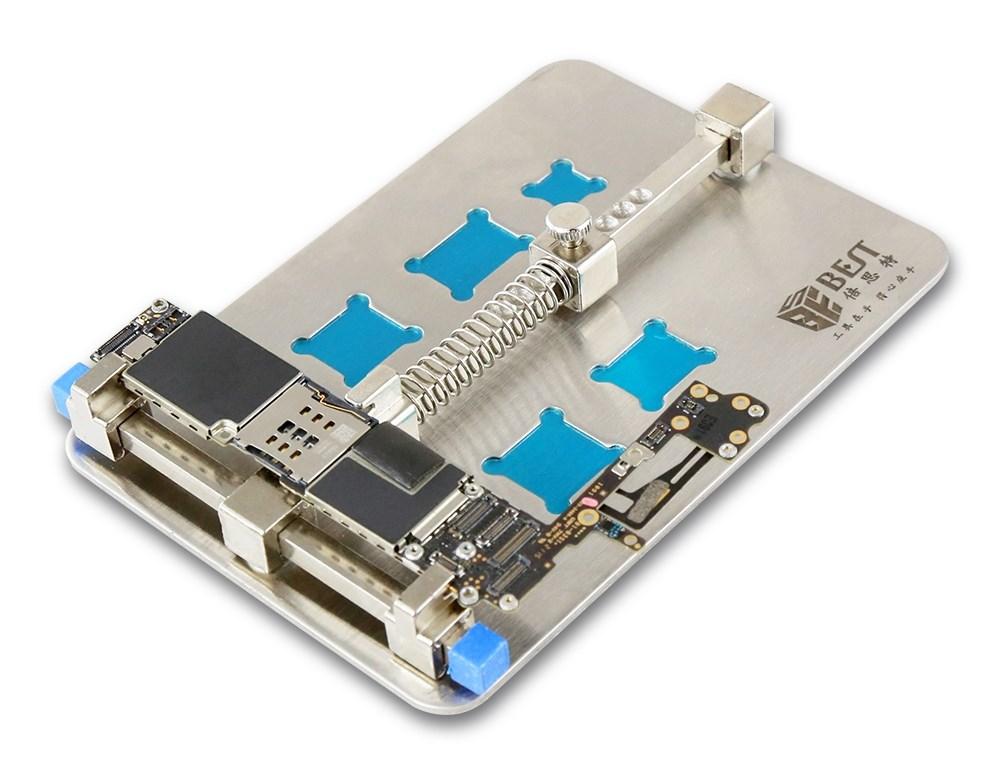 BEST βάση στήριξης PCB BST-001D με υποδοχές για chip, 13x9cm - BEST 22396