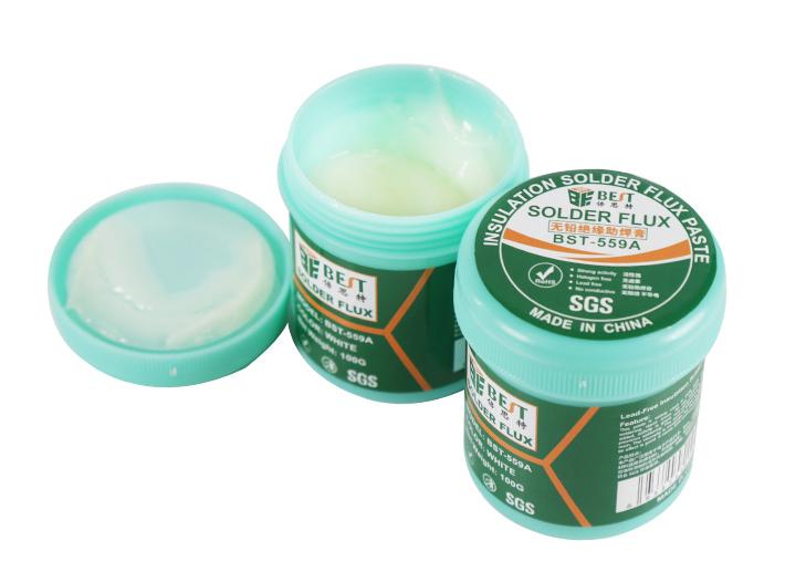 BEST Flux Solder paste συγκόλλησης BST-559A-100, lead free, 100gr - BEST 25807