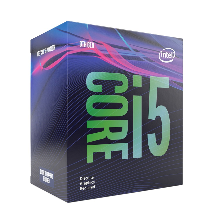INTEL CPU Core i5-9400F, Six Core, 2.9GHz, 9MB Cache, LGA1151 - INTEL 25090