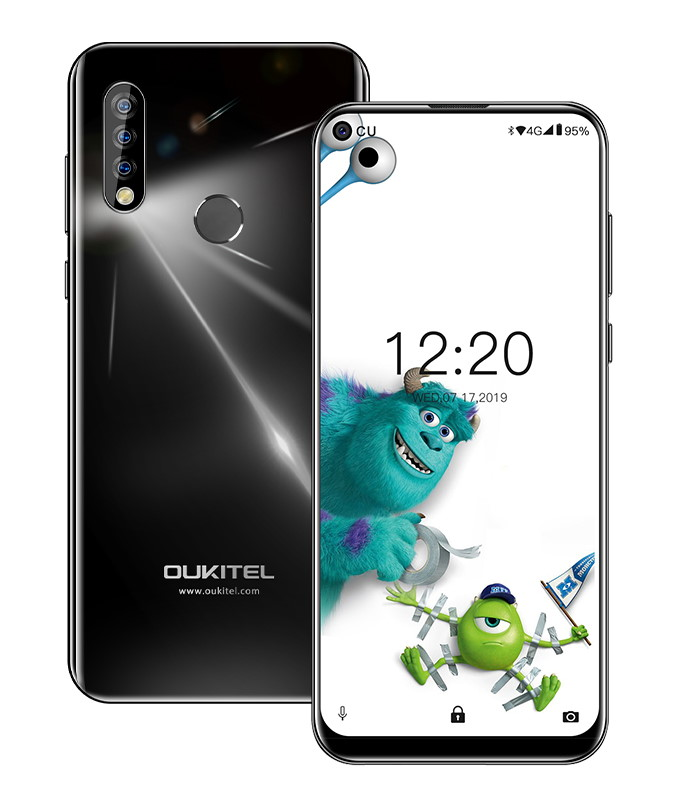 "OUKITEL Smartphone C17 Pro, 6.35"", 4/64GB, Octacore, 3900mAh, μαύρο - OUKITEL 26881"