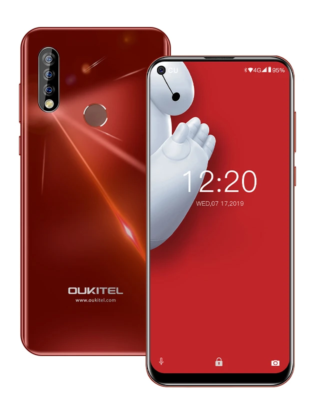 "OUKITEL Smartphone C17 Pro, 6.35"", 4/64GB, Octacore, 3900mAh, πορτοκαλί - OUKITEL 31522"