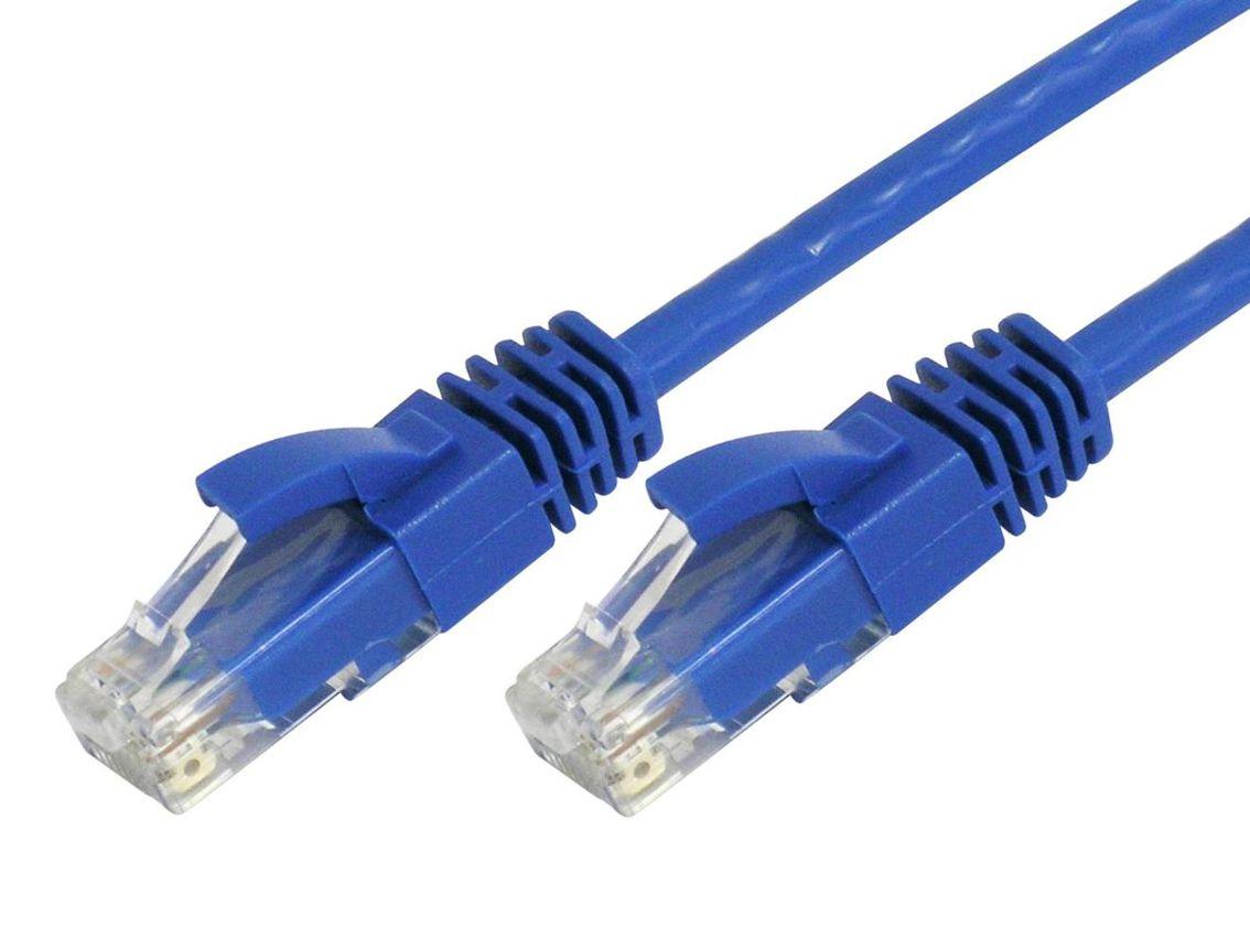 POWERTECH Καλώδιο UTP Cat 5e, CCA, 1m, Blue - POWERTECH 10631