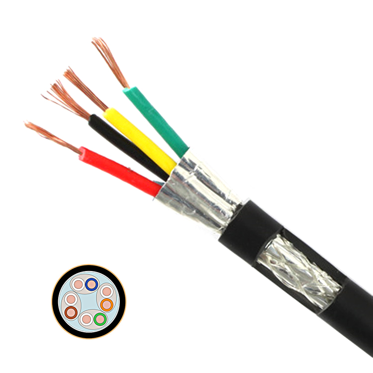 POWERTECH καλώδιο S/FTP Cat 6a CAB-N131, copper 24AWG 0.5mm, PET, 305m - POWERTECH 25196