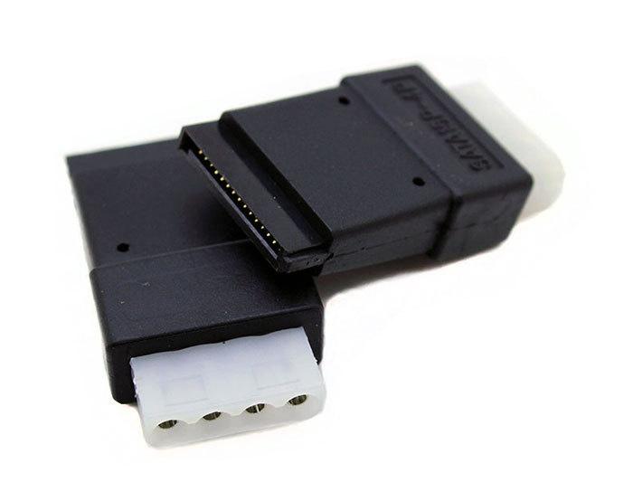 POWERTECH Αντάπτορας από 4-Pin Molex σε SATA 15-Pin - POWERTECH 11540