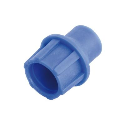 "TELECOM ""Cut and Push"" plastic coaxial connector, patented, Blue 5 ΤΕΜ. - TELECOM 10131"