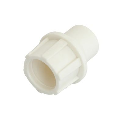 "TELECOM ""Cut and Push"" plastic coaxial connector, patented, White 5 ΤΕΜ. - TELECOM 10129"