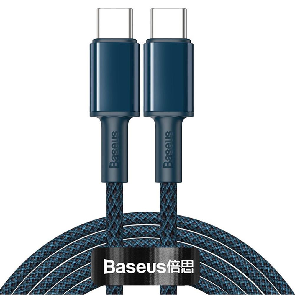 BASEUS καλώδιο USB Type-C CATGD-A03, 5A 100W, 2m, μπλε - BASEUS 36641