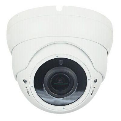 LONGSE Υβριδ. Κάμερα Varifocal 720p, 2.8-12mm, 1ΜP, IR 20M, μετ/κό σώμα - LONGSE 13885