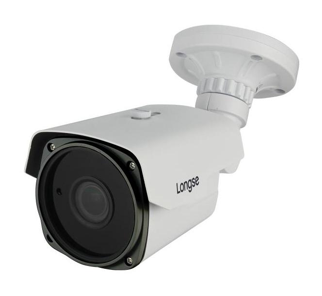 LONGSE IP Bullet Κάμερα 1080p, 2.8-12mm, 3MP, μεταλλικό σώμα, αδιάβροχη - LONGSE 15475
