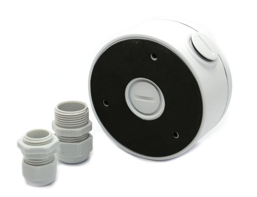 LONGSE Μεταλλική βάση στήριξης καμερών Dome και Bullet CCTV-B003, λευκή - LONGSE 28163