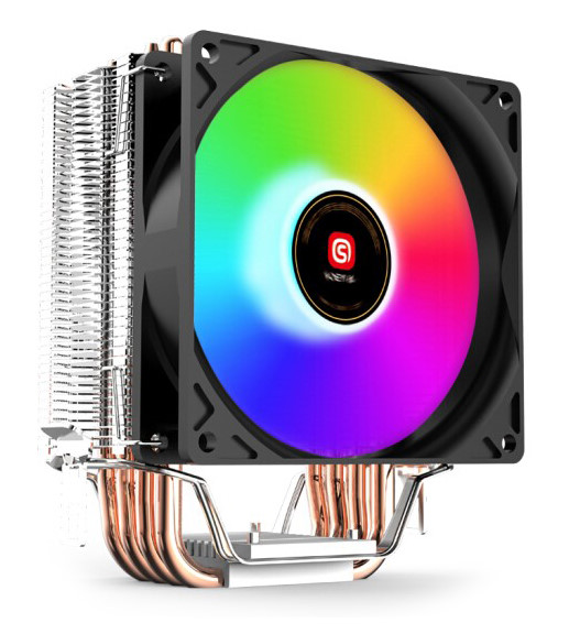 SOEYI Ψύκτρα για CPU CL4900, 2400RPM, 26.3dBA, 4-pin, 80mm fan RGB, 130w - SOEYI 27703