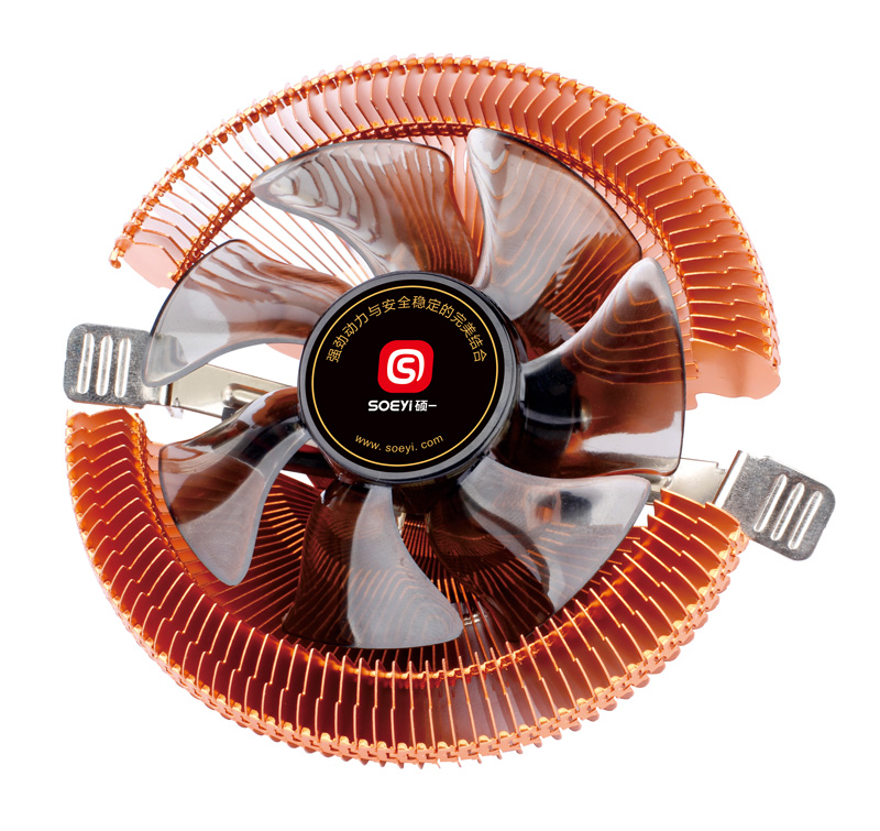 SOEYI Ψύκτρα για CPU CLA902, 1800RPM, 23.6dBA, 3-pin, 90mm fan, 65w - SOEYI 27702