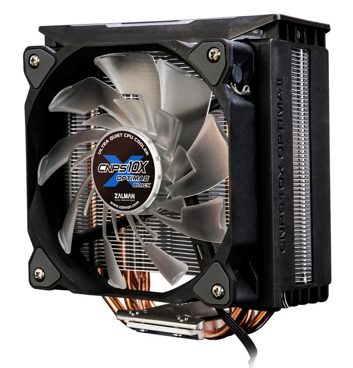 ZALMAN ψύκτρα για CPU CNPS10X Optima II, 1500rpm, 27dBA, 61.52CFM, 180W - ZALMAN 31639