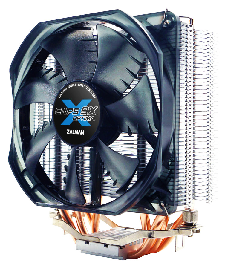 ZALMAN Ψύκτρα CNPS9X Optima, για υπολογιστή, 1500RPM, 26dBA, fan 120mm - ZALMAN 23321
